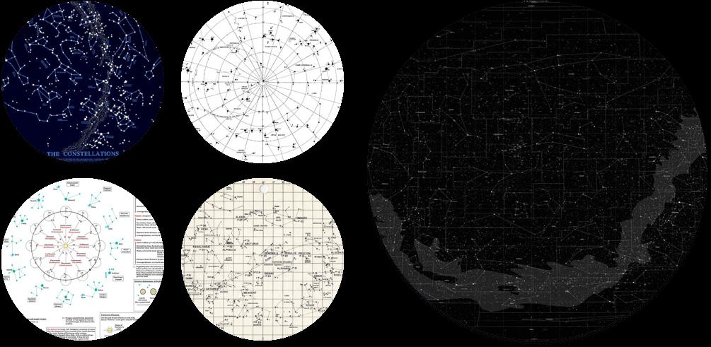 一些我们四处抓取的丢在 Slack 中的有关星座星图技术美学的图片